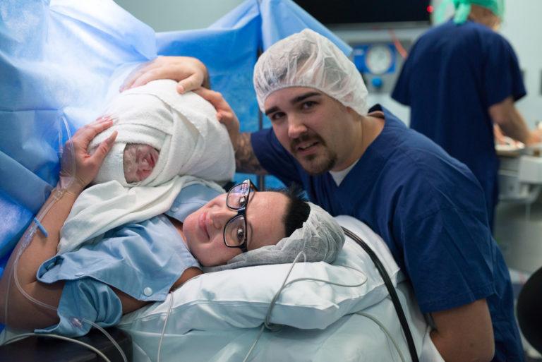 newborn birth photographer gold coast