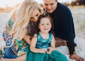 family newborn baby photography gold coast brisbane
