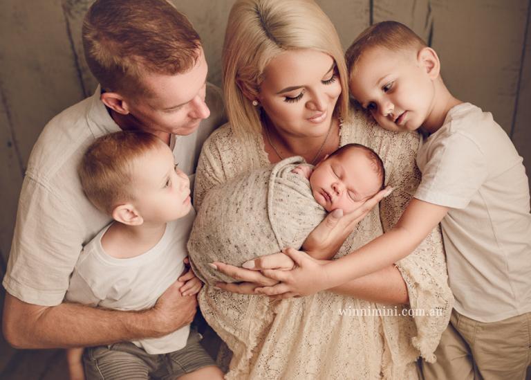 kai newborn baby family photos photography photographer gold coast brisbane