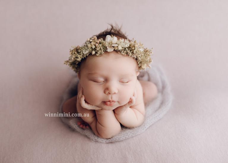 Krystal newborn baby family photos photography photographer gold coast brisbane