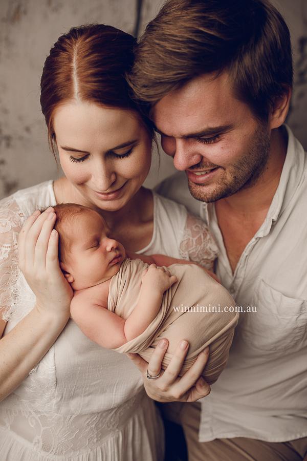 newborn baby family photographer gold coast brisbane babies-1